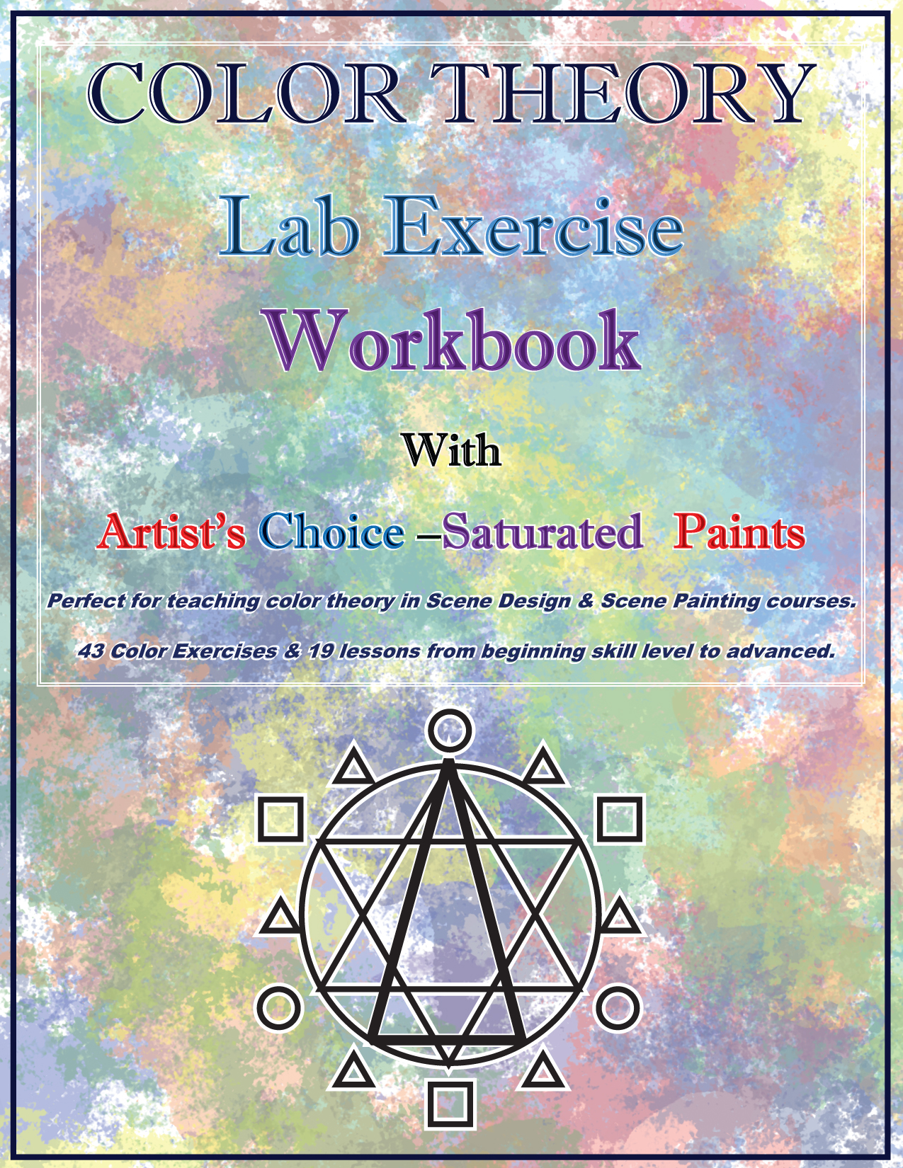 Color Theory Work Book with Artist\'s Choice Saturated Scenic Paints ...