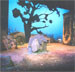 Organic set created with Sculpt or Coat for the Greensboro College Production of Lughnasa